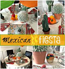mexican fiesta table setting a purdy little house