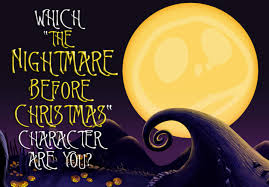 which the nightmare before character are you