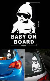 40 best car shit images on pinterest jdm stickers bumper find more stickers information about free shipping car styling 3d waterproof baby on board