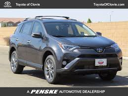 2017 new toyota rav4 limited fwd at toyota of clovis serving