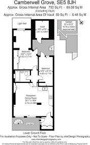 2 bedroom maisonette for sale in camberwell grove london se5 se5