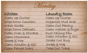 printable house cleaning schedule printable house cleaning schedule blessed messes