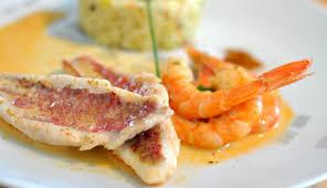 cuisiner des rougets filet de rouget et risotto à la courgette brisach et l os a moelle