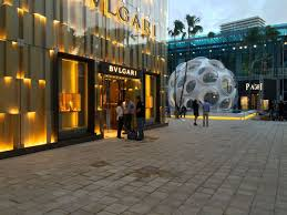 home design center miami the design district s palm court is pretty much done facades and
