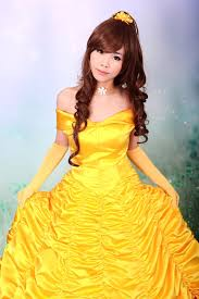 Belle Halloween Costume Adults Costume Cane Picture Detailed Picture Princess