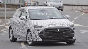 opel zafira 2018 all new opel corsa makes spy photo debut