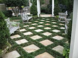 Atlanta Landscape Materials by Flagstone Patio And Mondo Grass Traditional Landscape