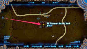 zelda breath of the wild guide how to find majora u0027s mask in the