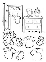 ranger sa chambre coloriage aide taz à ranger sa chambre
