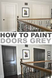 how to paint perfect stripes painted doors paint doors and how