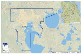 Map Of Kissimmee Florida by Service Territory Kissimmee Utility Authority