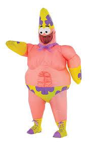 amazon com spongebob movie deluxe inflatable patrick costume for