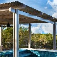 Louvered Patio Roof Pergola Style Louvered Roofs Alrs Outdoor Living