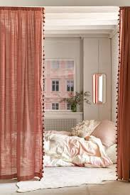 Pink Hanging Door Beads by Best 25 Closet Door Curtains Ideas On Pinterest Curtains For
