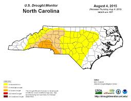 Us Drought Map Drought In Charlotte And Mecklenburg County Wfae