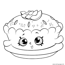 shopkins season 6 apple pie coloring pages printable