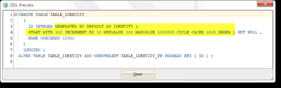 Alter Table Modify Column Oracle Defining 12c Identity Columns In Oracle Sql Developer Data Modeler