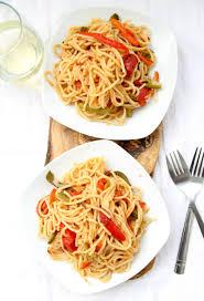 one pot fajita pasta the dreaming foodie