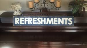 refreshments home movie theater decor snack shop concessions