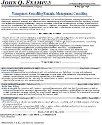 consulting resume management consulting resume exles templates franklinfire co