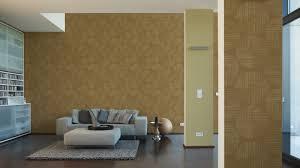 Wohnzimmer Tapeten Design Tapete Kreise As Creation Spot Braun Gold 30550 2