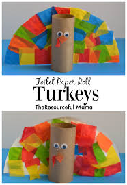 toilet paper roll turkey kid craft toilet paper rolls