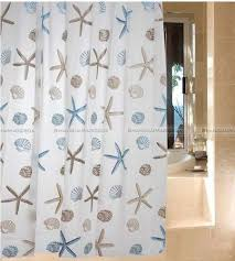 Coastal Shower Curtains Coastal Shower Curtains For Atmosphere Cafemomonh Home