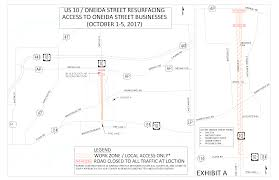 Green Bay Wisconsin Map by Project Overview U2013 Us 10 Oneida St Resurfacing