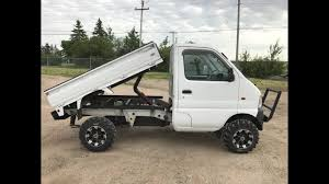 suzuki box truck 1999 suzuki carry custom dump mini truck youtube