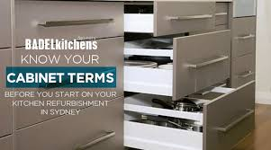 Kitchen Cabinet Refurbishment Know Your Cabinet Terms Before You Start On Your Kitchen