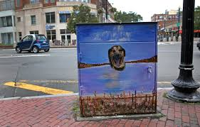 Citizenfour Living Room Theater Portland Utility Boxes Get Facelifts In Harvard Square The Boston Globe