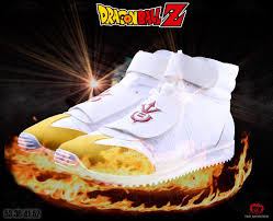 turn super saiyan official dragon ball sneakers