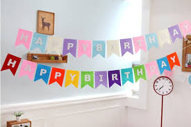 party banner customized bunting banner party supplies malaysia birthday