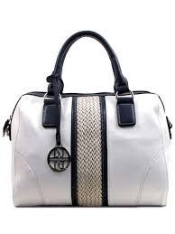 nautical bag white navy blue nautical inspired satchel handbag purse blue
