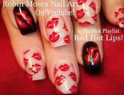 robin moses nail art neon striped nail art design tutorial up