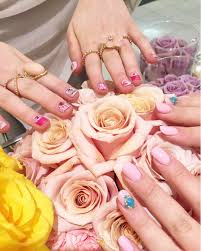 kawaii barbie nail art at bar à ongles candy montreal fashion