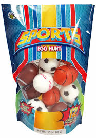 candy filled easter eggs sport candy filled easter eggs 12ct