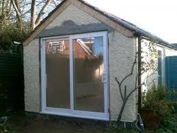 Garage Door Conversion To Patio Door Builders Belfast Northern Ireland Hmc Joinery Building For