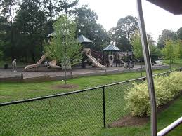 travel nc with kids village park in kannapolis nc has playground