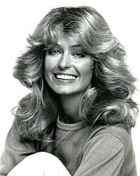 farrah fawcett hair color feathered hair wikipedia
