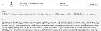 gift cards for business amex offer 15 gap gift cards business cards doctor of credit
