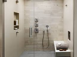 bathroom detachable shower gray tile floor kohler loure large