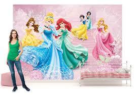 Girls Bedroom Wall Murals Disney Princesses Wall Mural Photo Wallpaper Girls Bedroom 50