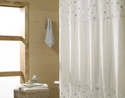 shower amazing fabric shower curtains mainstays classic noir 70