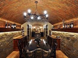 Wine Cellar Chandelier Traditional Wine Cellar With Chandelier Wall Sconce Zillow