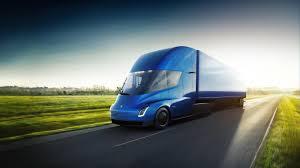electric truck tesla reveals its electric semi truck techspot