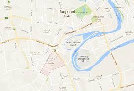 Baghdad Map Vbied Explodes Near Al Bayaa Area Of Baghdad Killing Two And