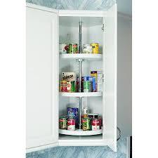shop rev a shelf 3 tier plastic full circle cabinet lazy susan at