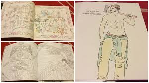 trend coloring books smart bitches trashy books