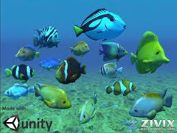 tropical fish pack 3d model